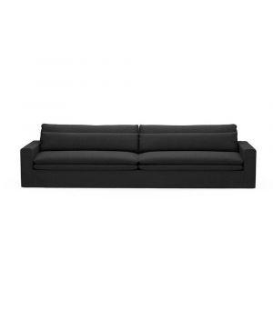 Sedačka Continental XL, Oxford Weave, Basic Black