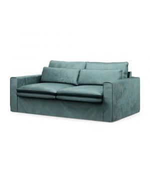 Continental Sofa 2,5s, Velvet, MinBlue