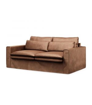 Continental Sofa 2,5s, Velvet, Chocolate