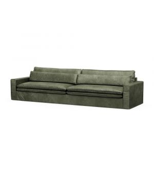 Continental Sofa XL, Velvet, Ivy