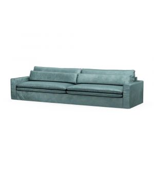 Continental Sofa XL, Velvet, MinBlue