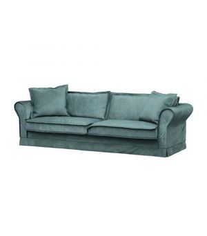 Carlton Sofa 3,5s, Velvet, MinBlue