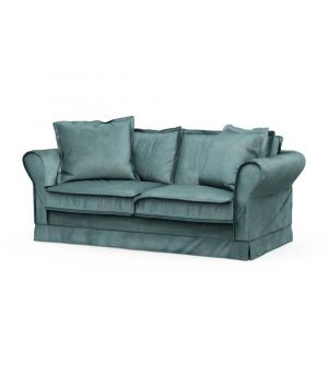 Carlton Sofa 2,5s, Velvet, MinBlue