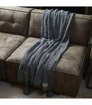 Pléd Rhythm Knitted  180x130cm