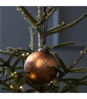 Vianočná ozdoba Carving Pattern Dia 10