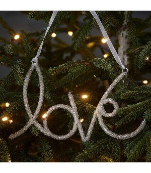 Vianočná ozdoba Glamorous Love