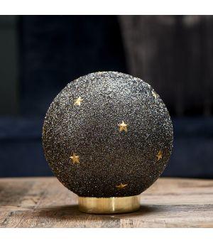 Dekorácia Christmas Gold Star Led
