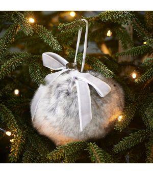 Viánočná ozdoba Fabulous Faux Fur 10cm