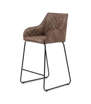 Nízká barová stolička Frisco Drive, Pellini, Coffee