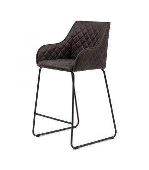 Nízká barová stolička Frisco Drive, Pellini, Espresso