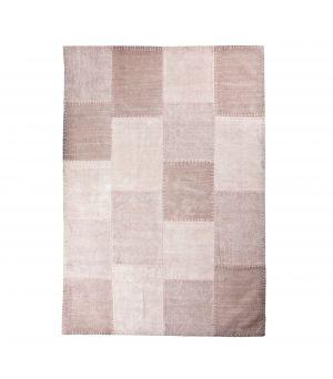 Koberec Patchwork Mono 160 x 230 cm - růžový