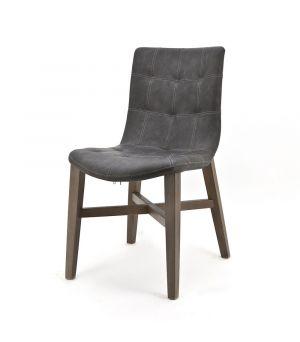 Jedálenská stolička Neba Anthracit