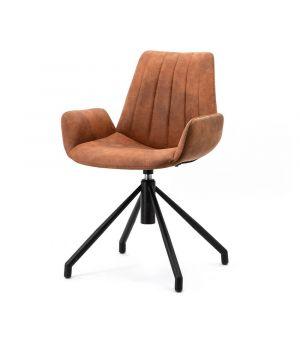 Chair Zoey - cognac cowboy