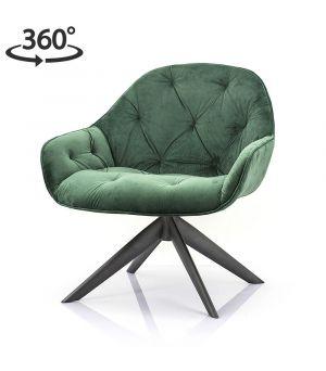 Lounge chair Joy - green winnfield