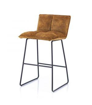 Nízka barová stolička Ruby, Ochre Adore