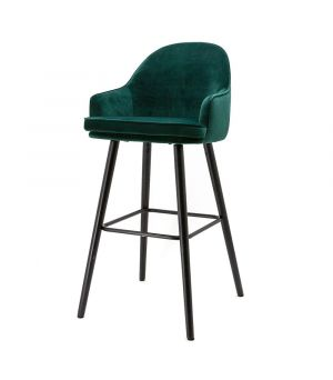 Barová stolička Barbara, Green Motown