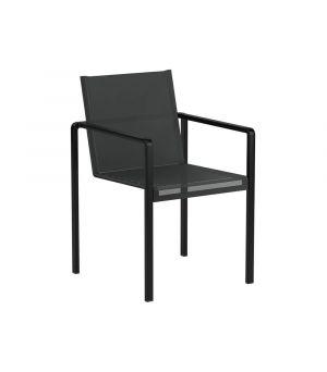 Alura arm chair black