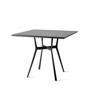 Záhradný stolík Bistro, štvorcový 80x80cm