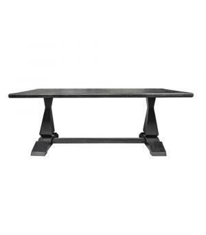 Jedálenský stôl Column Leg 2.0, Black 220x105cm