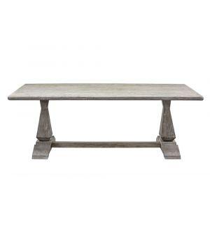 Jedálenský stôl Column Leg 2.0, Grey 220x105cm