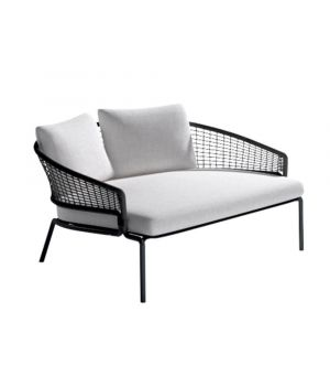 Lounge bed CTR wengé
