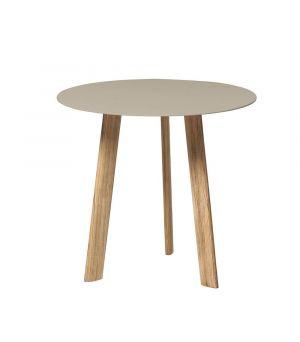 Postranný stolík Ille linen Ø 60cm