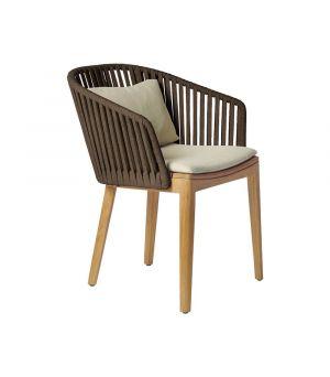 Záhradná stolička Mood, Earth Brown