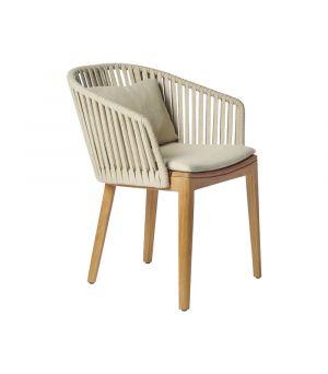 Záhradná stolička Mood, Linen