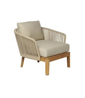 Club chair Mood linen