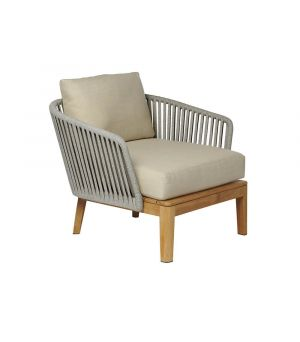 Club chair Mood stonegrey