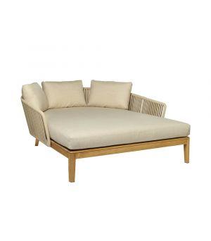 Záhradná posteľ Mood Linen