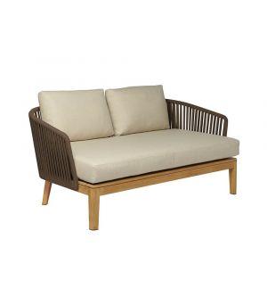 Mood Sofa 2 seater earthbrown