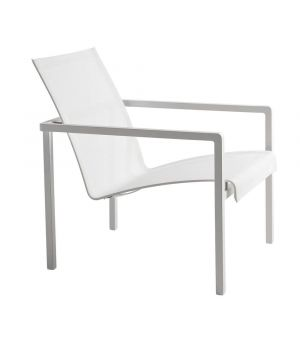 Natal Alu Easy Chair White