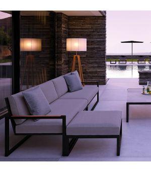 Ninix sofa 3 seater, Footrest