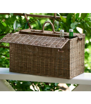 Košík Rustic Rattan Going To The Park Basket
