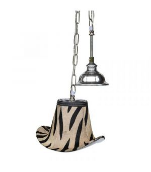 Závesná lampa Zebra Hat