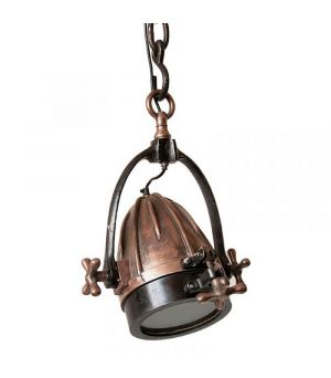 Závesná lampa Rocket Red copper