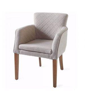 Waverly Armchair, Linen, Flax