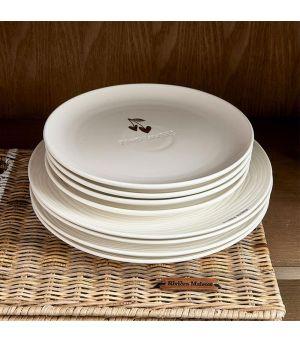 Tanier Food Lovers Breakfast Plate