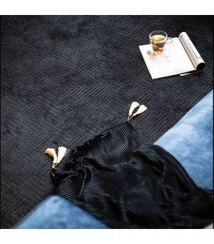 Koberec Madam 160x230 cm - black