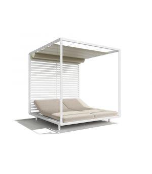 Pavilion mooveble Sunvision Alu white