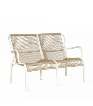 Loop sofa white