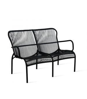 Loop sofa black